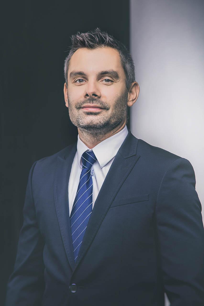 Biznesowy portret mężczyzny