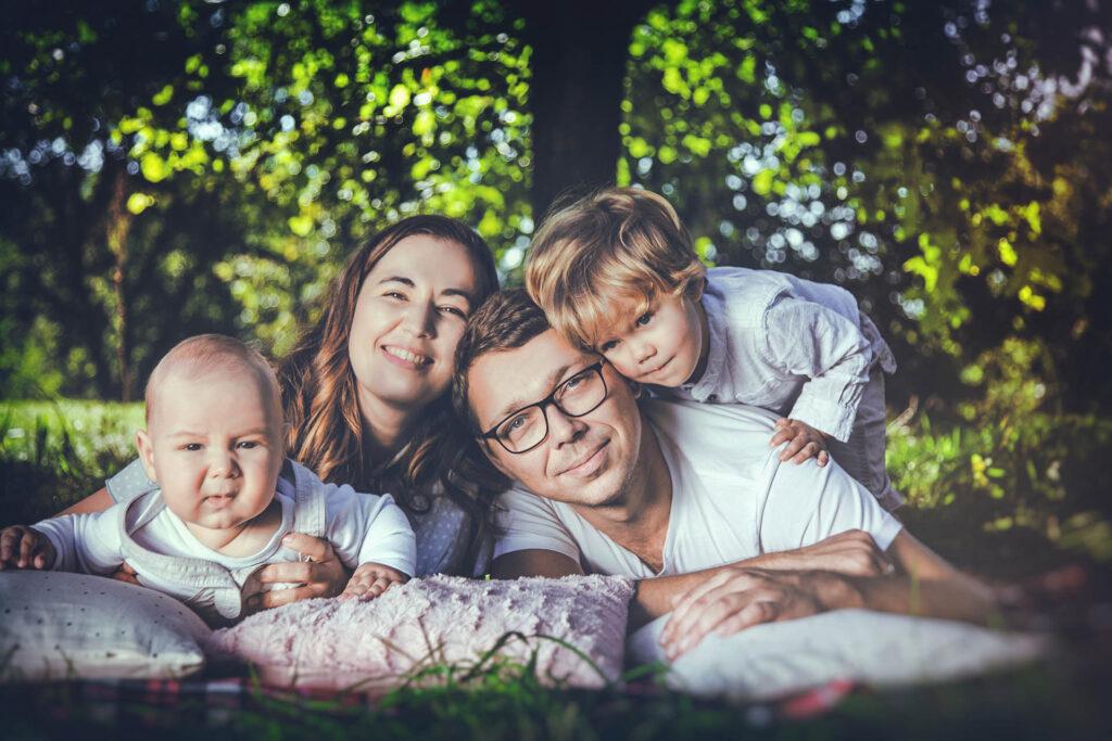 zdjęcia rodzinne w plenerze